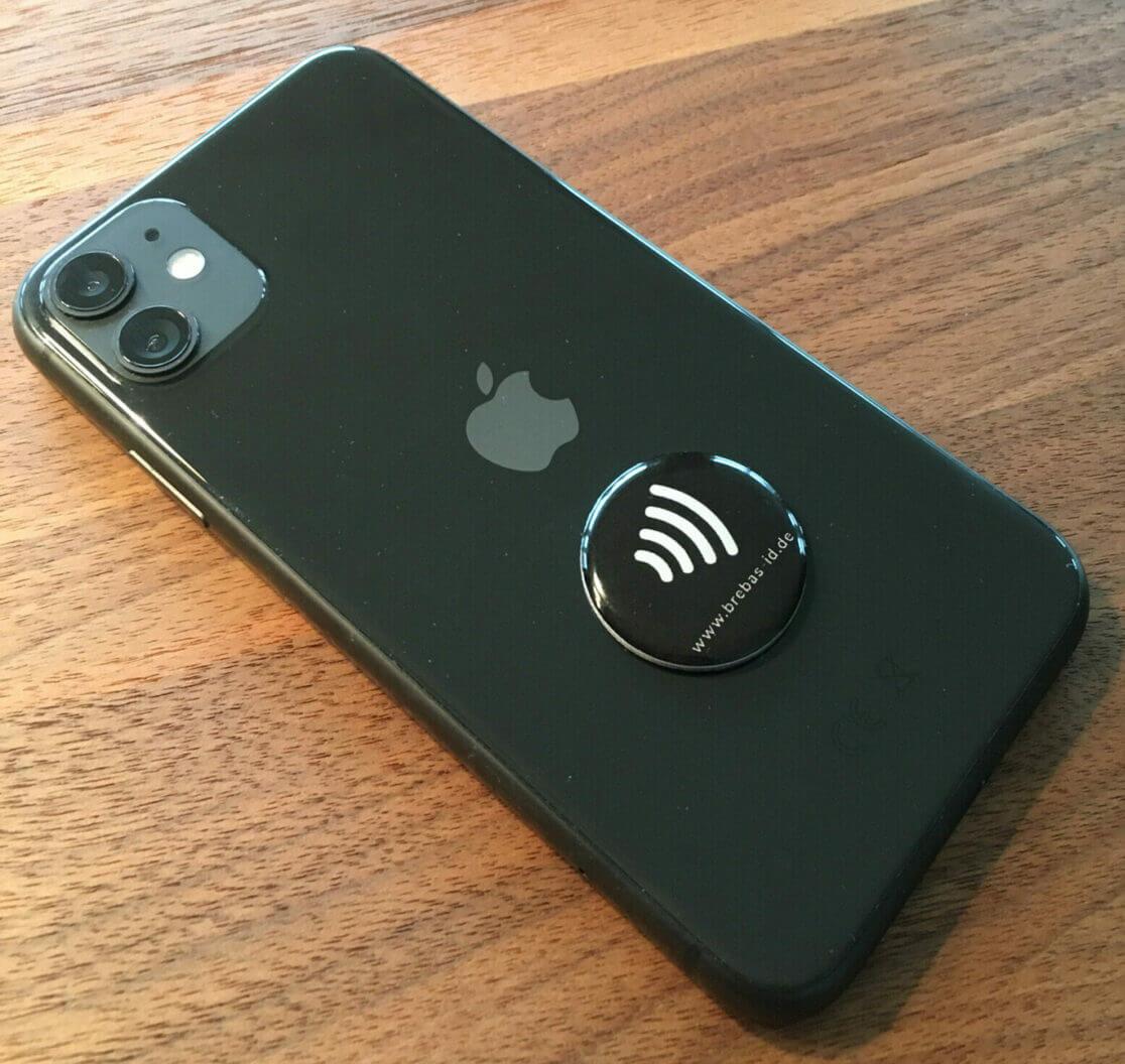 Tag ID auf einem iPhone 11