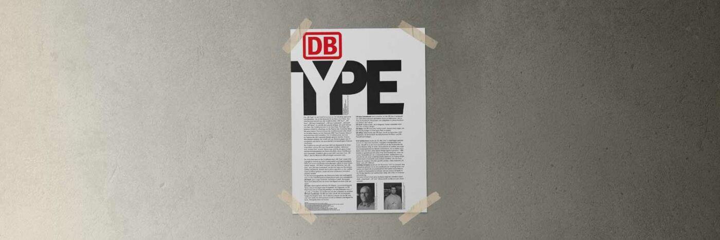 Deutsche Bahn Plakat